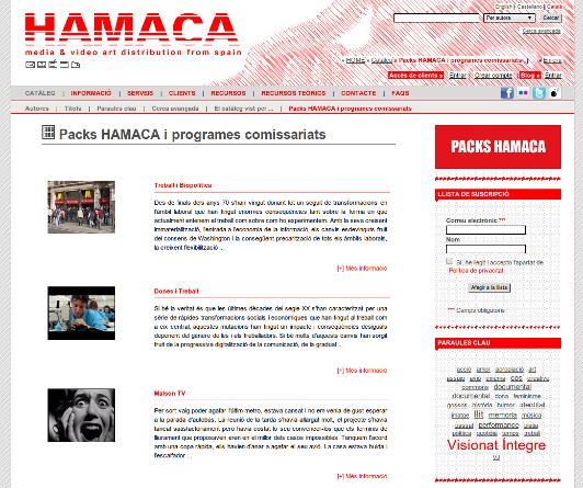 Hamaca On-line
